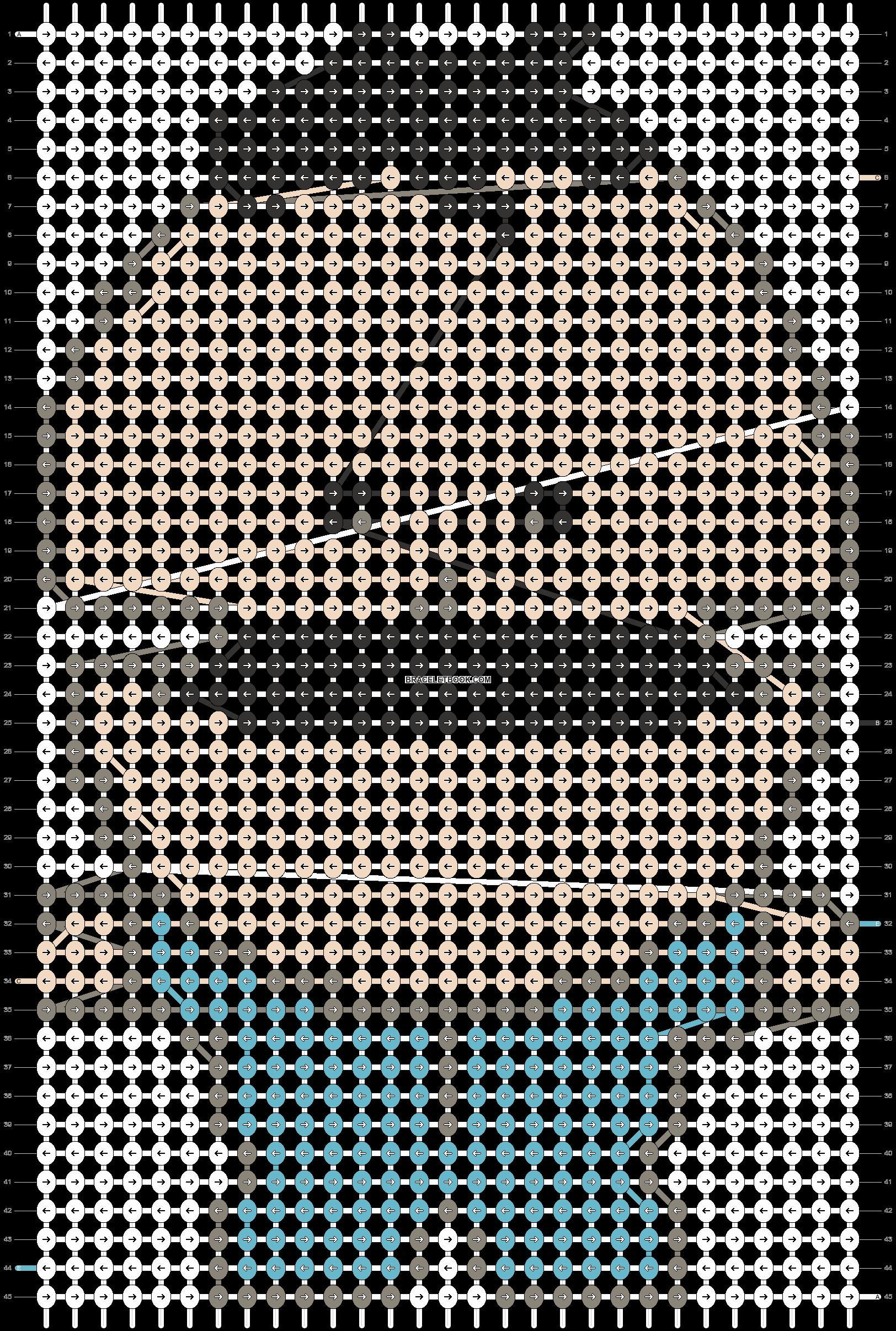 Alpha pattern #18529 pattern