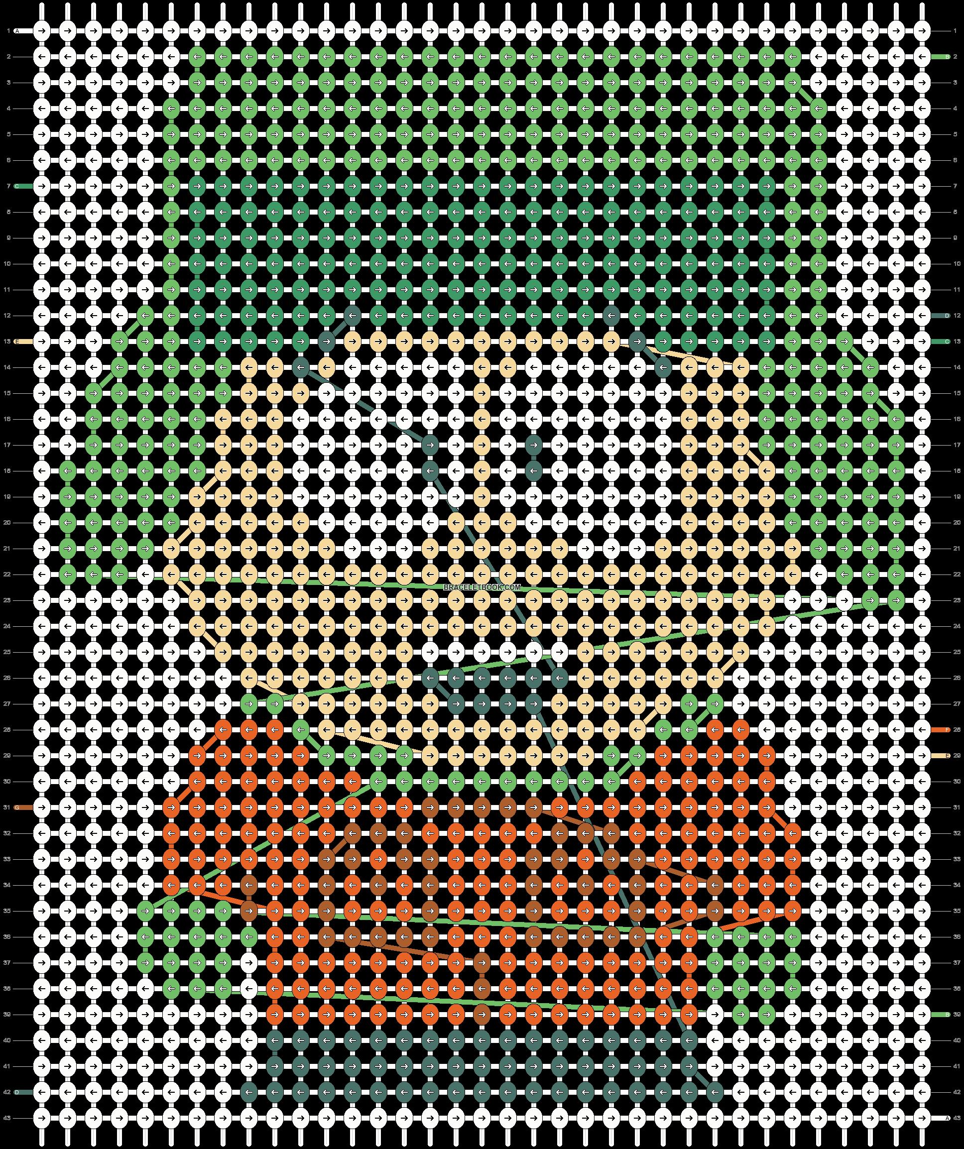Alpha pattern #18532 pattern
