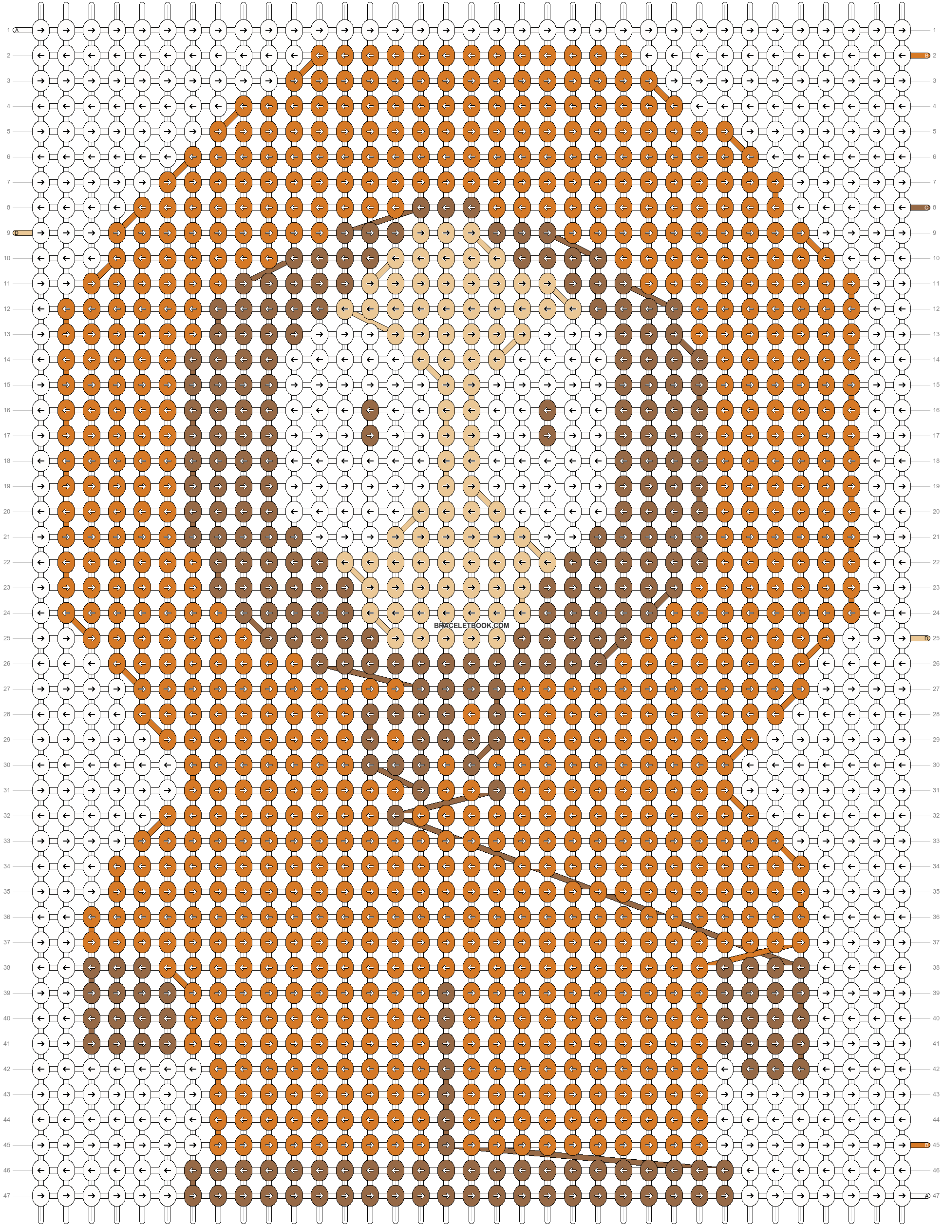 Alpha pattern #18533 pattern