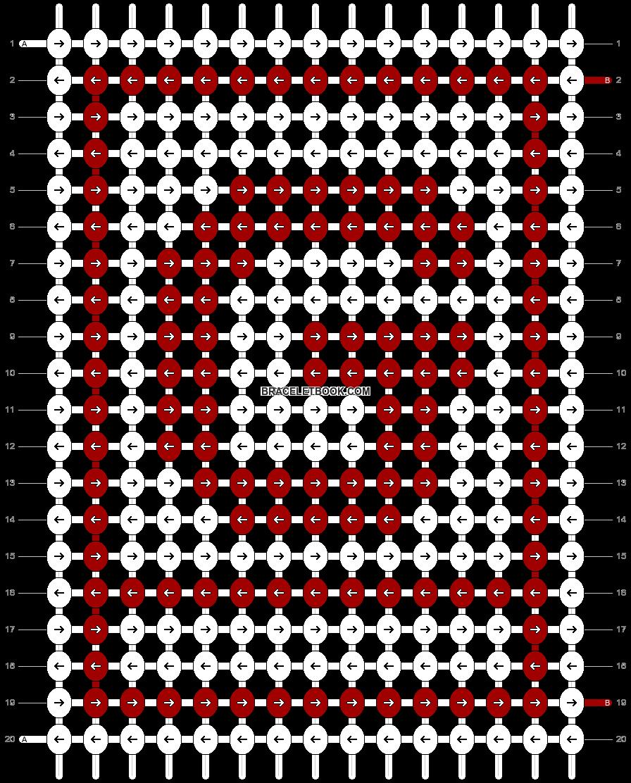 Alpha pattern #18538 pattern