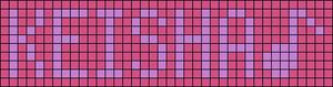 Alpha pattern #18540