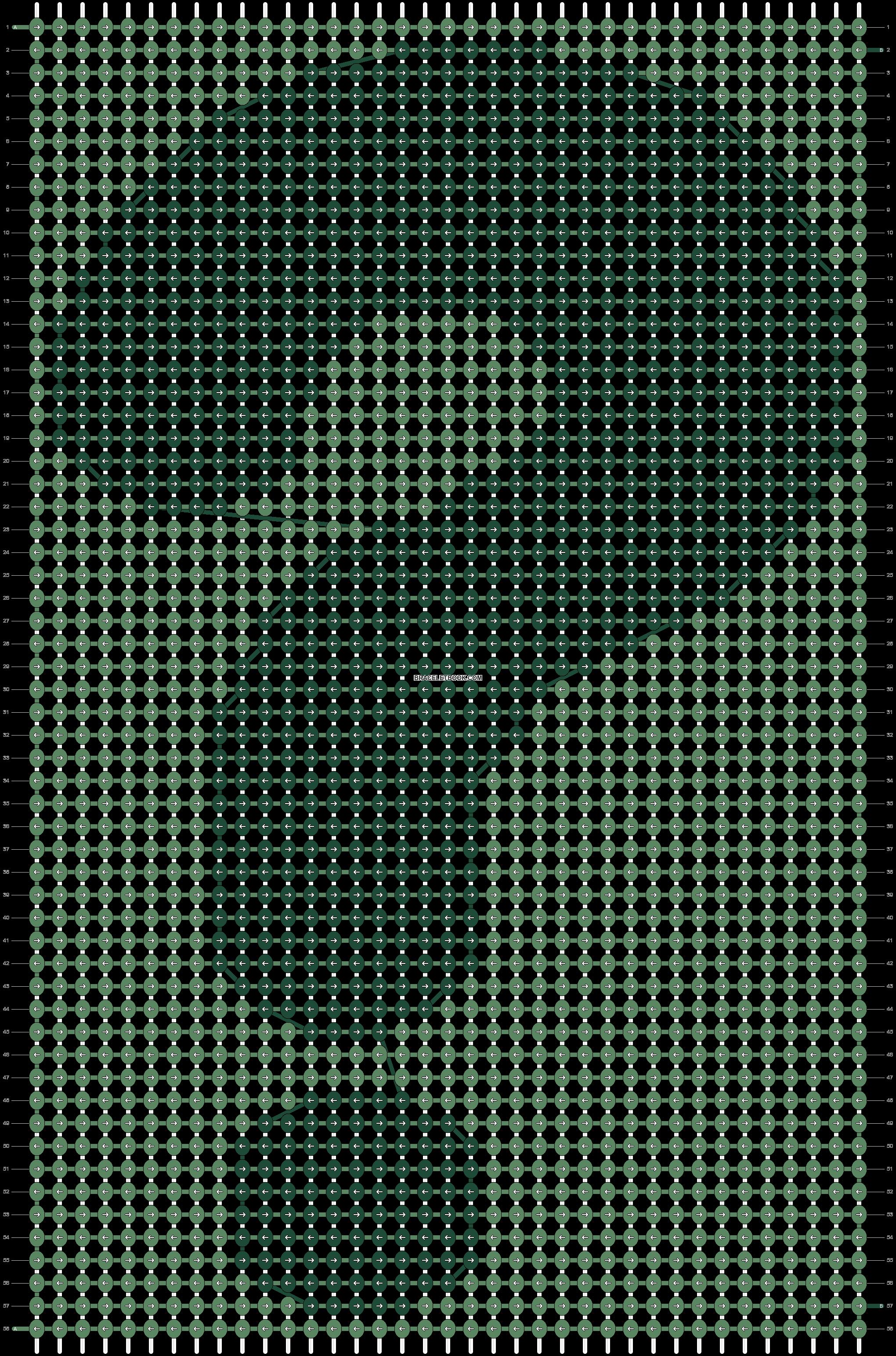 Alpha pattern #18543 pattern