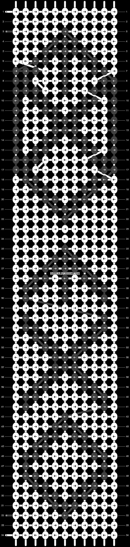 Alpha pattern #18545 pattern