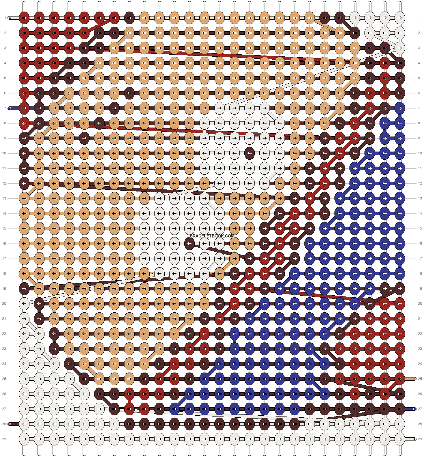 Alpha pattern #18547 pattern