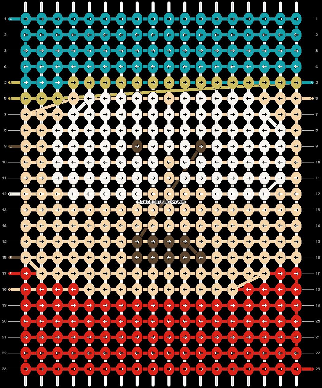 Alpha pattern #18553 pattern