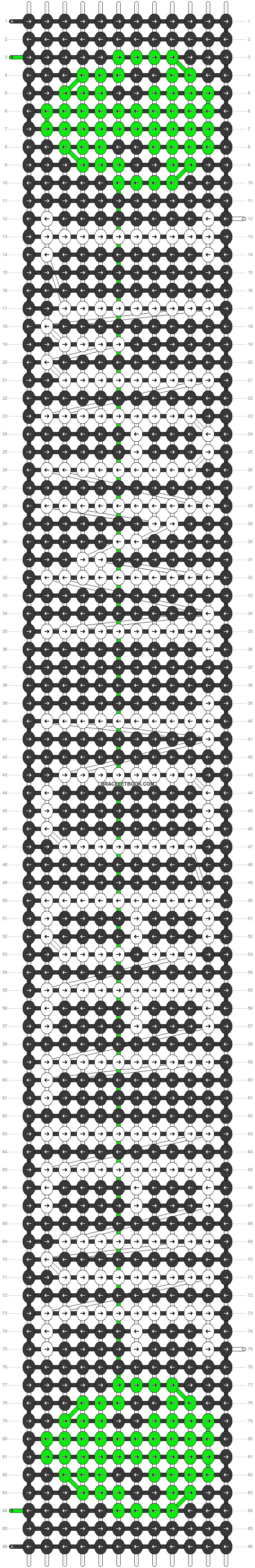Alpha pattern #18554 pattern