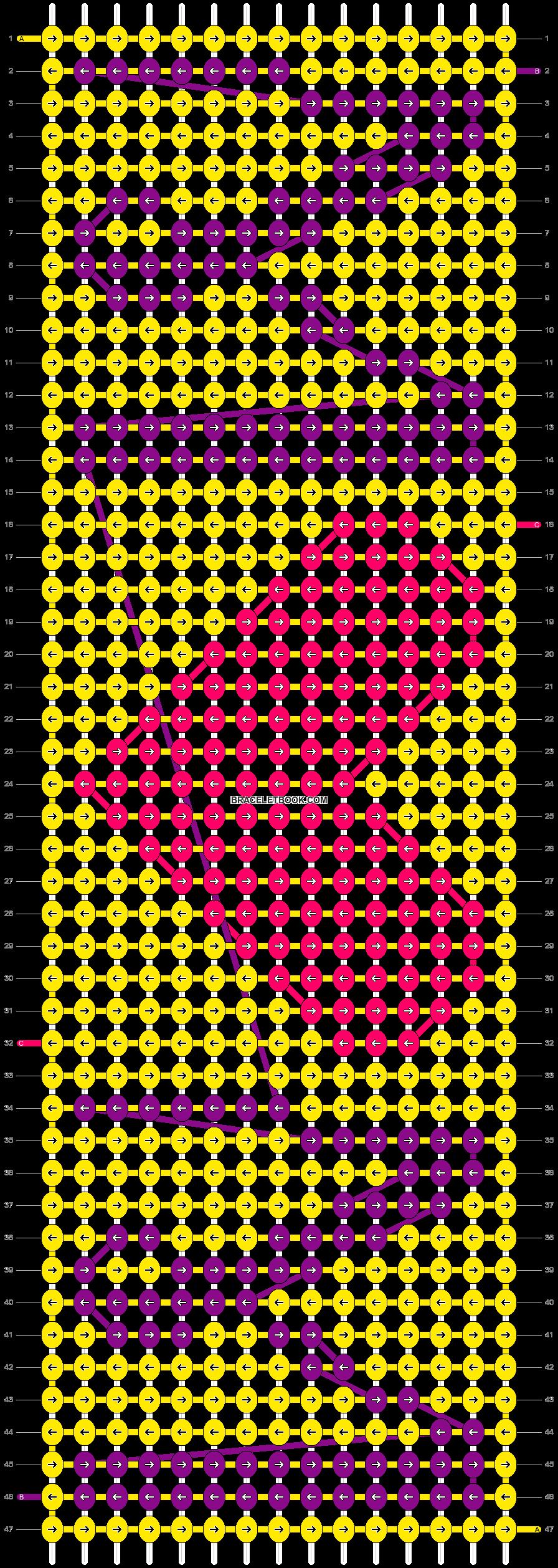 Alpha pattern #18557 pattern
