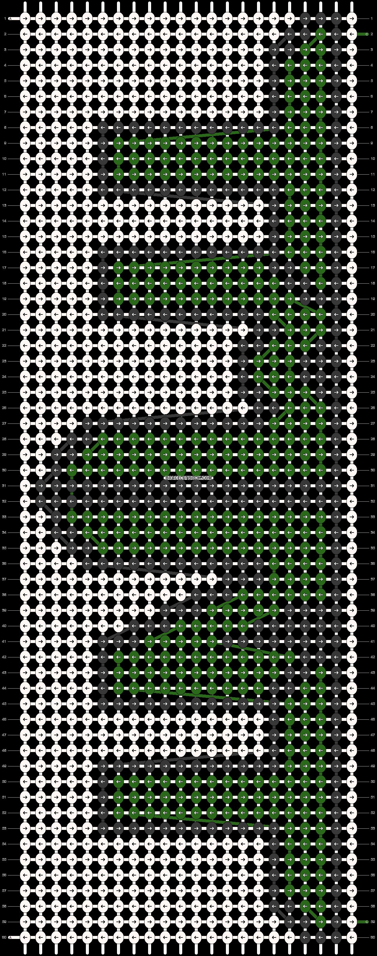 Alpha pattern #18558 pattern