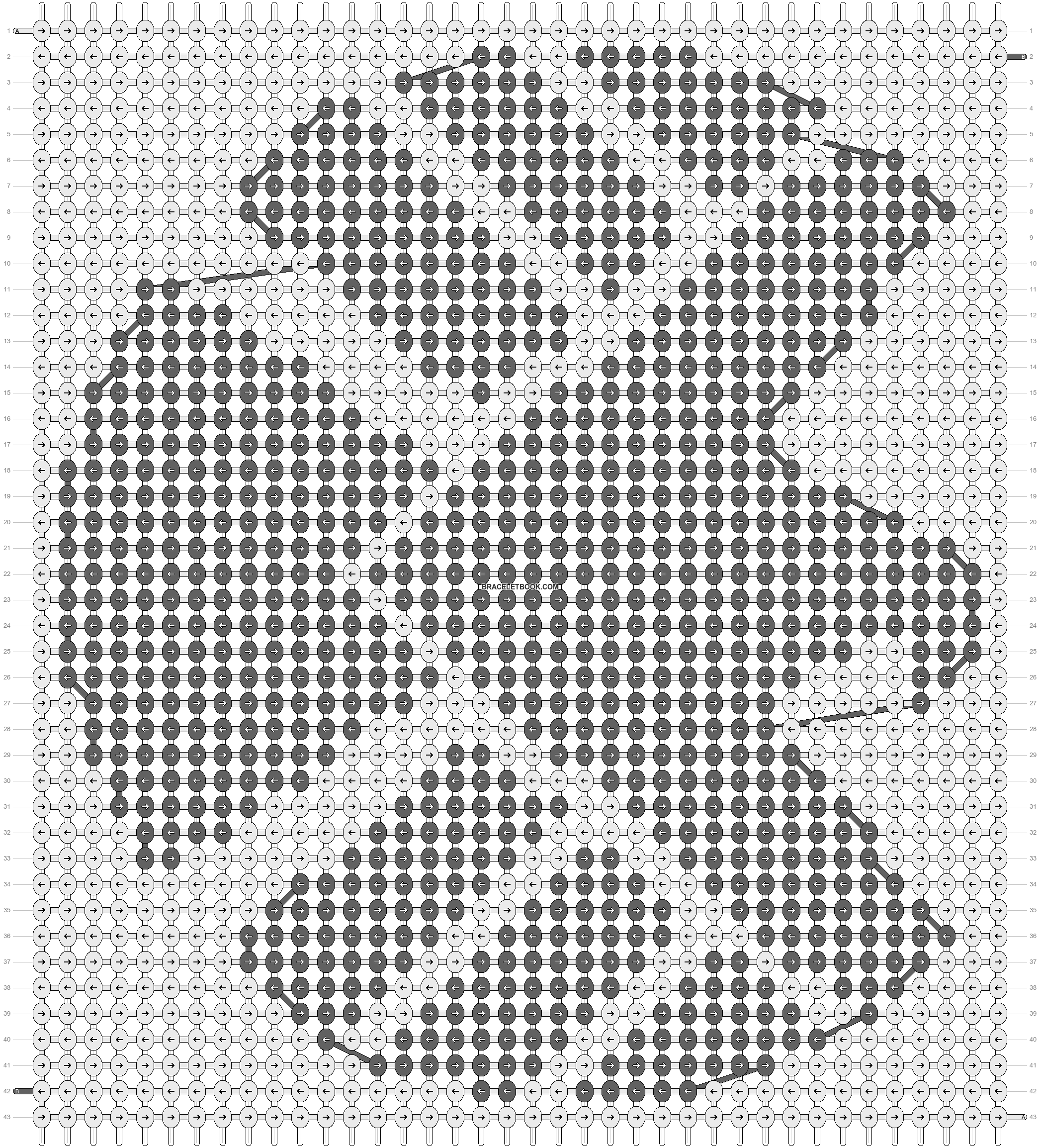 Alpha pattern #18559 pattern