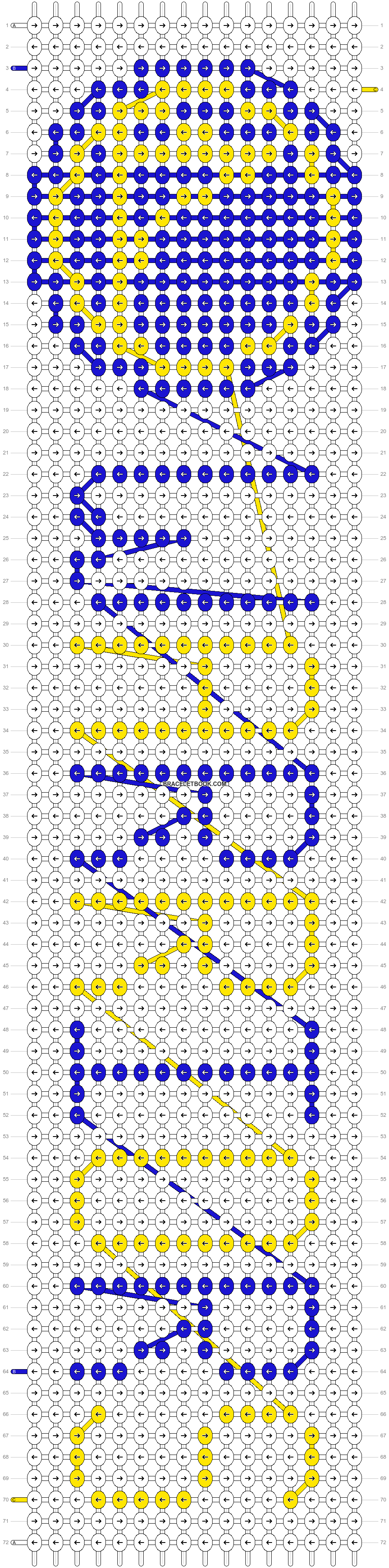 Alpha pattern #18572 pattern