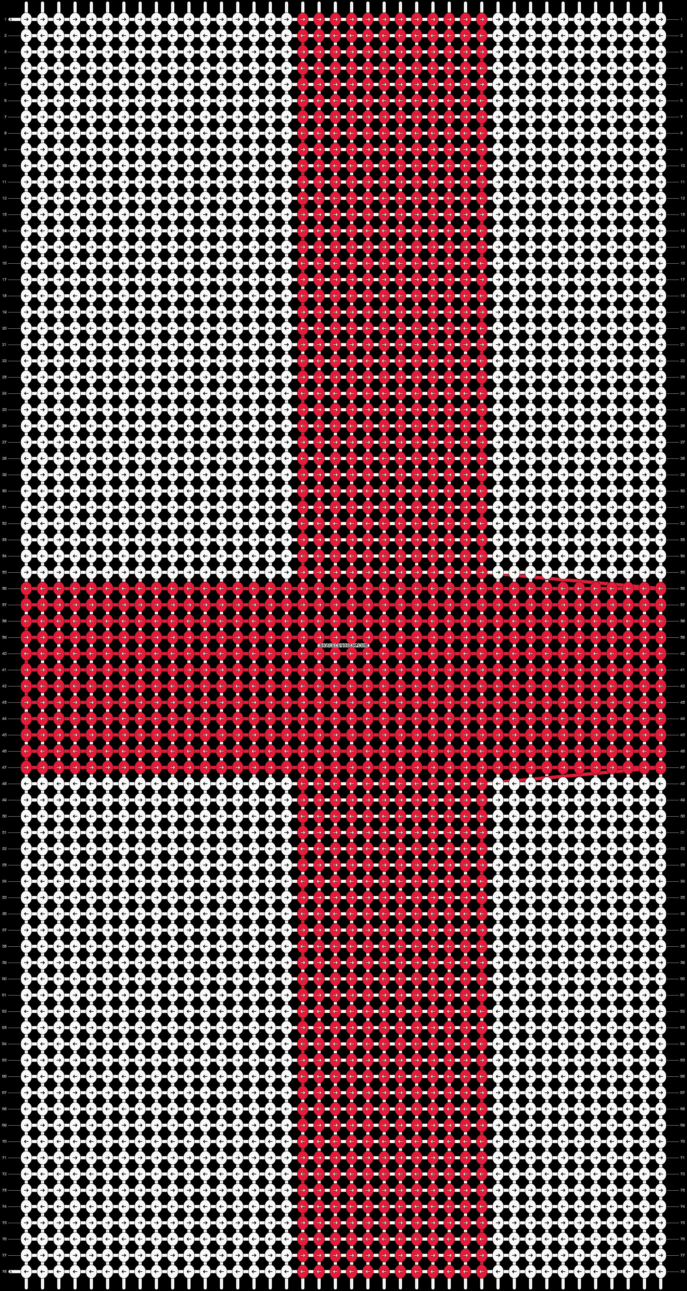 Alpha pattern #18573 pattern