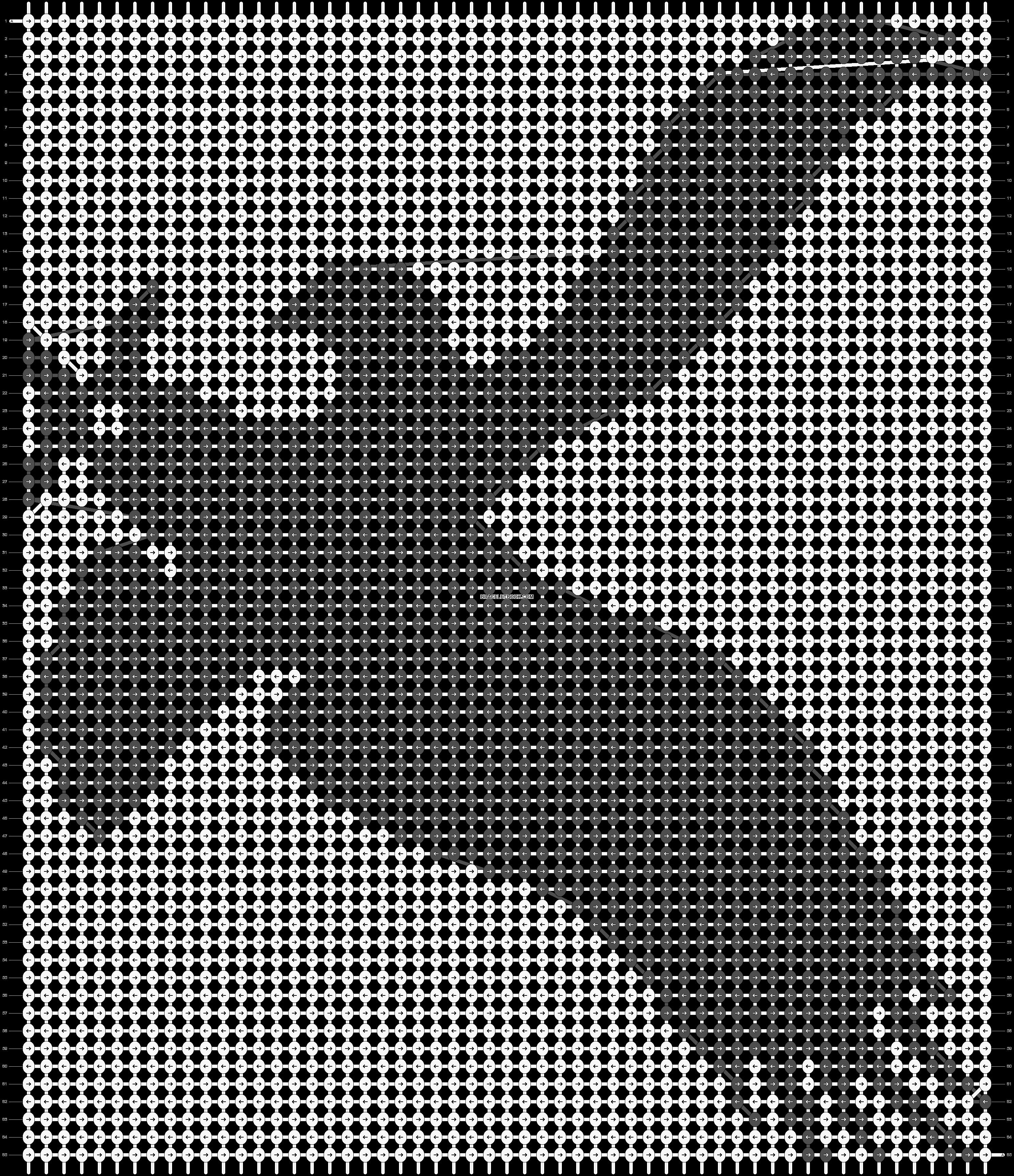 Alpha pattern #18574 pattern
