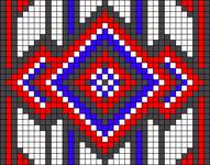 Alpha Friendship Bracelet Pattern #18580