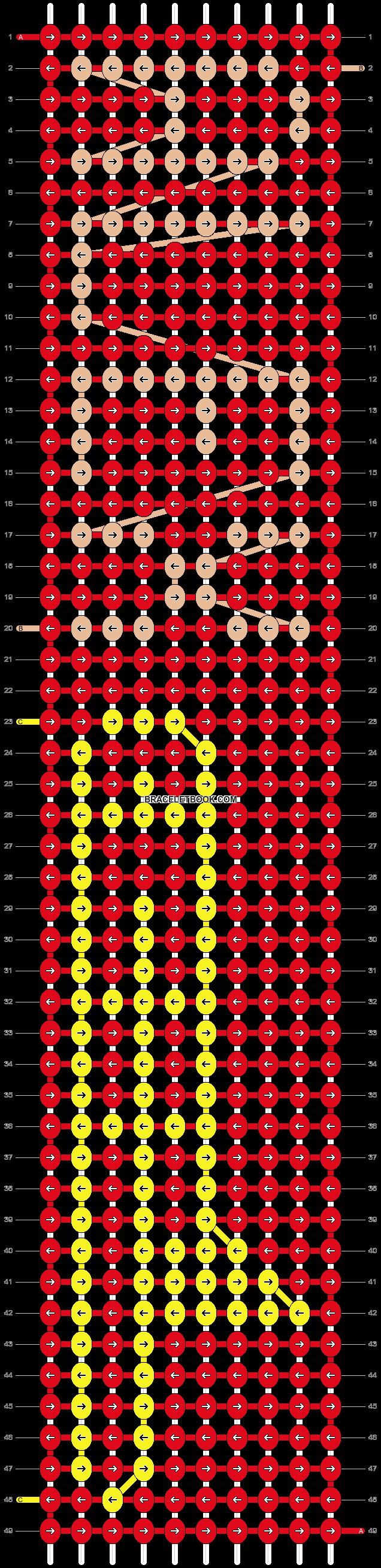 Alpha pattern #18581 pattern