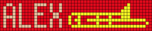 Alpha pattern #18581