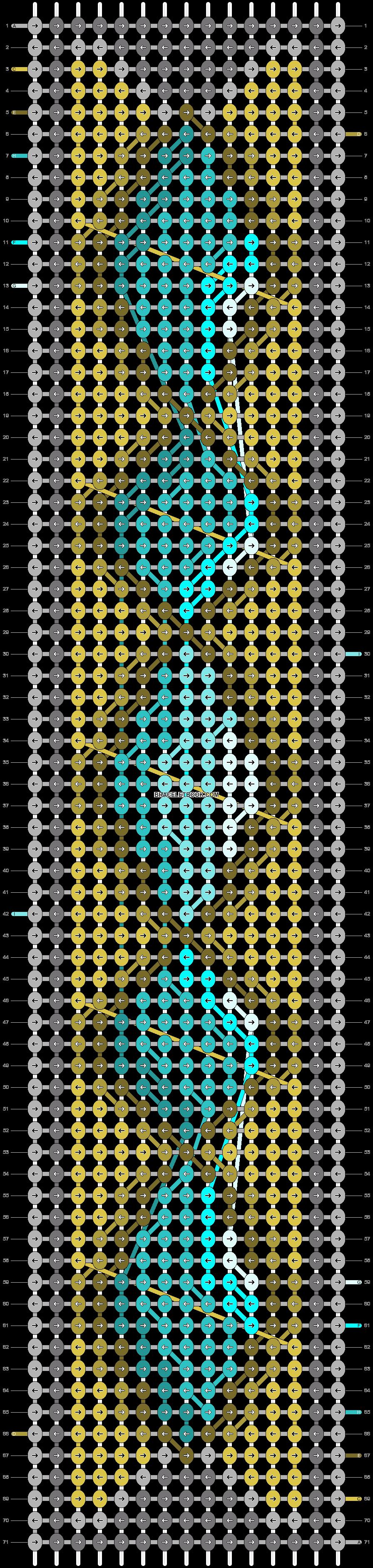 Alpha pattern #18582 pattern