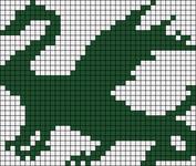 Alpha Friendship Bracelet Pattern #18583