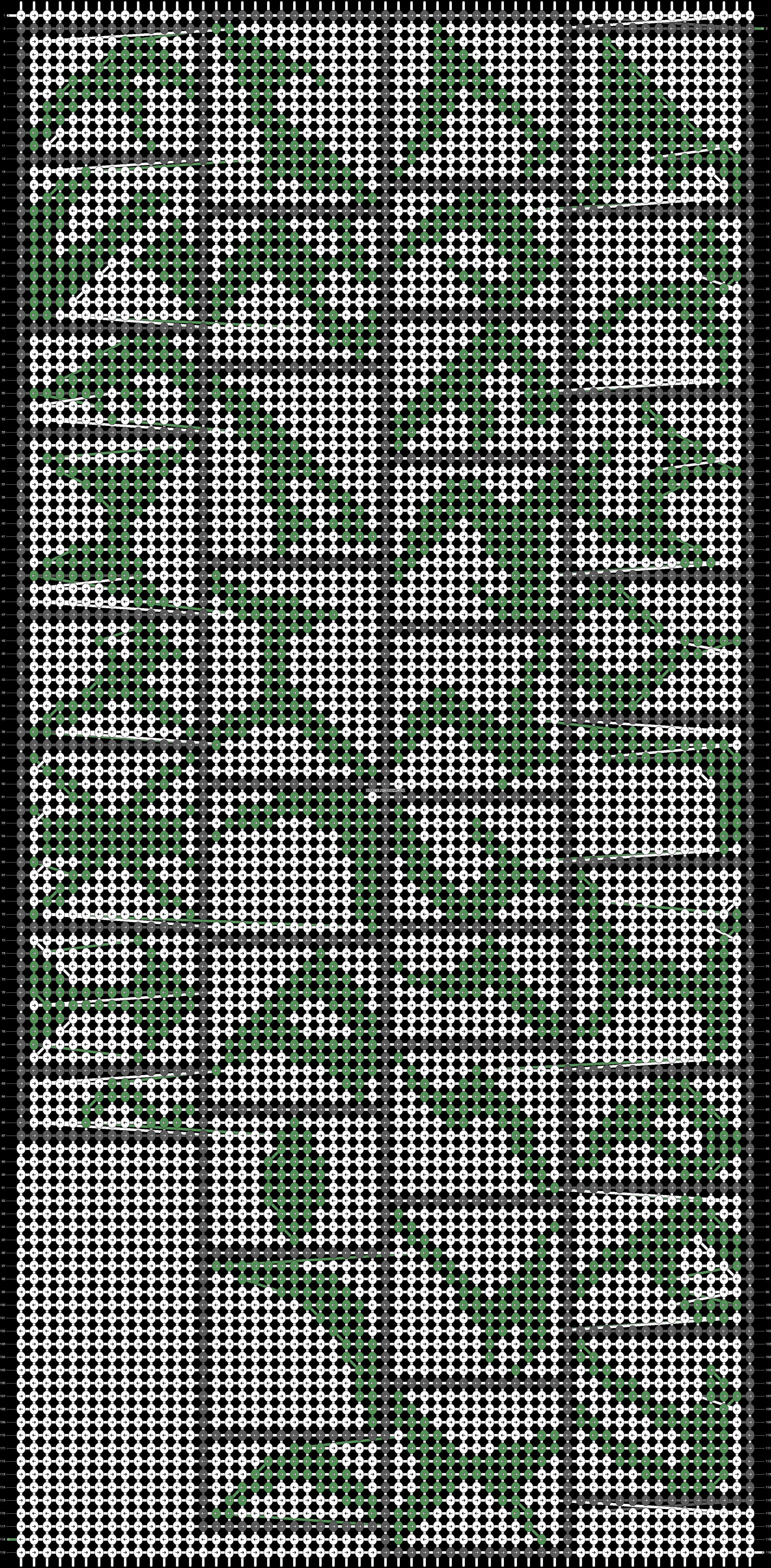 Alpha pattern #18587 pattern