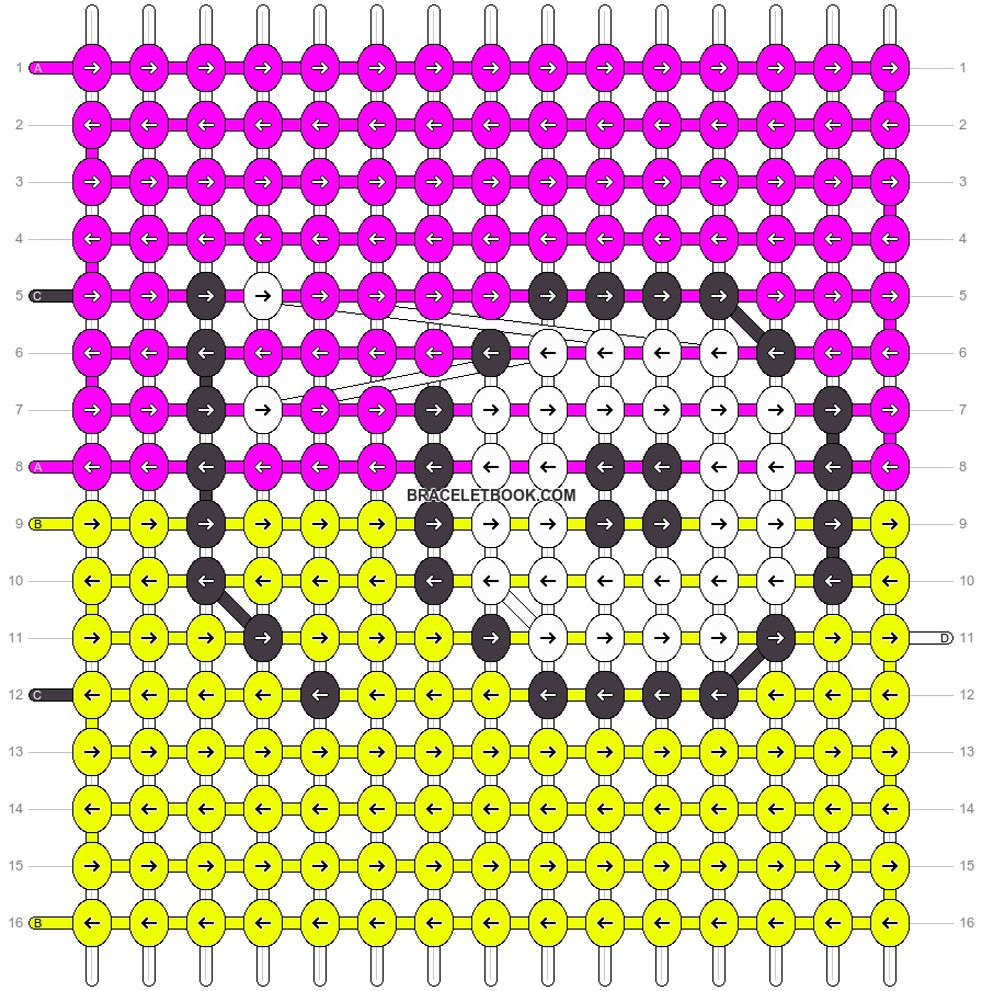 Alpha pattern #18588 pattern