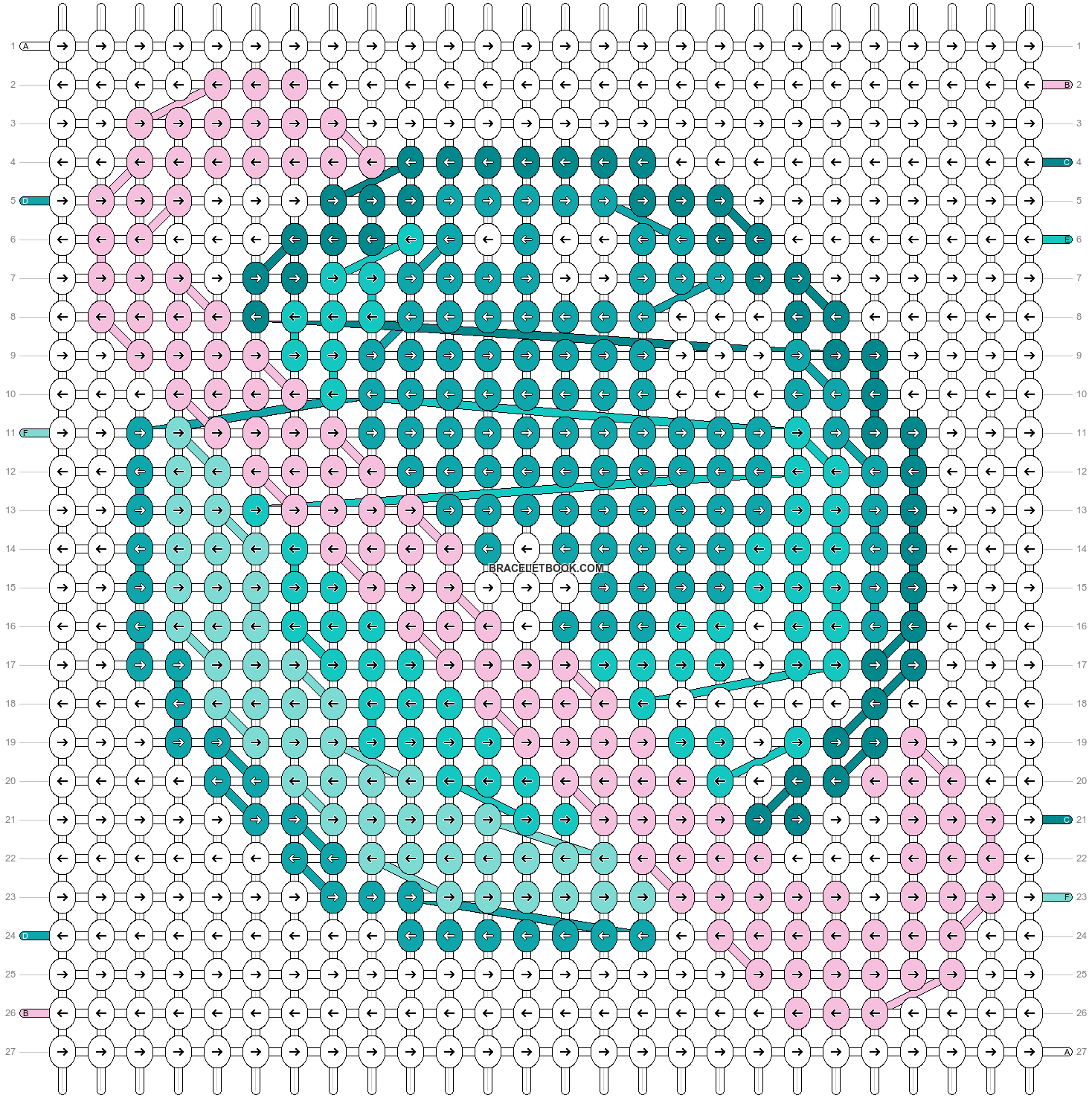 Alpha pattern #18589 pattern
