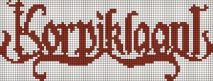Alpha Friendship Bracelet Pattern #18590