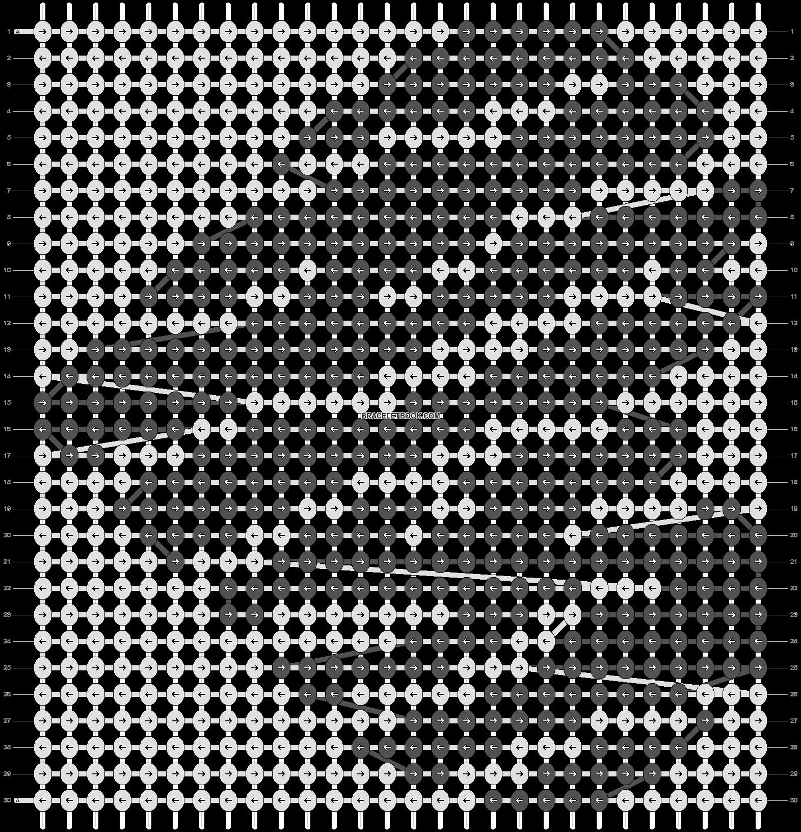 Alpha pattern #18592 pattern