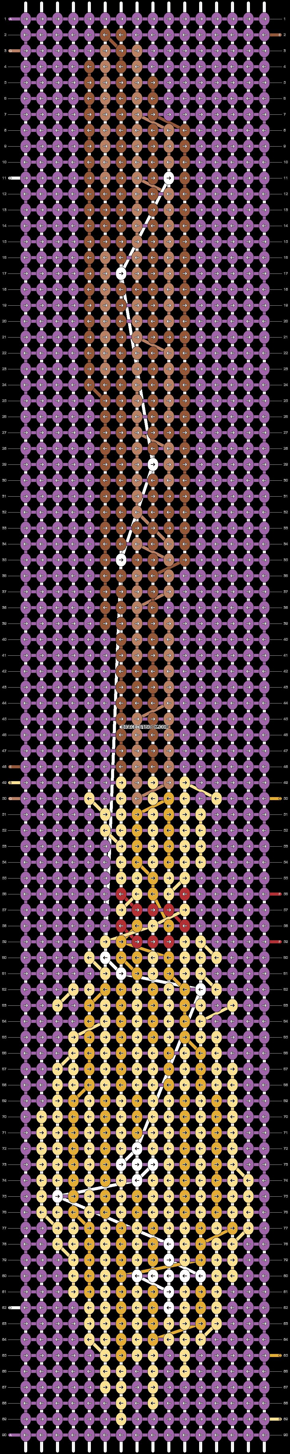 Alpha pattern #18593 pattern