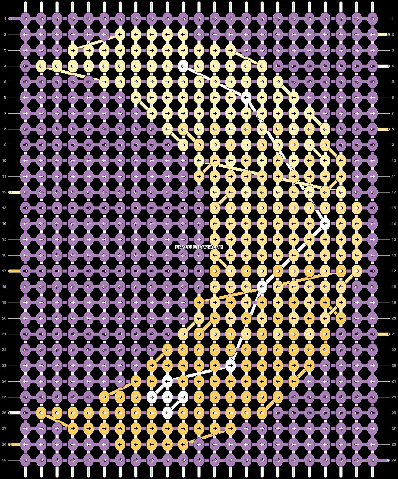 Alpha pattern #18595 pattern