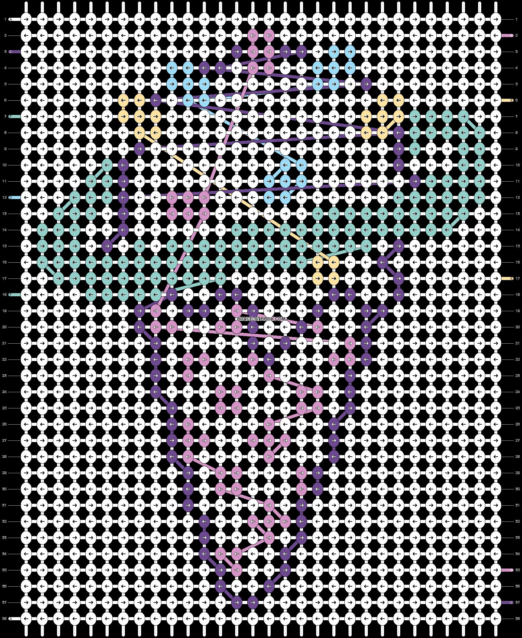 Alpha pattern #18596 pattern