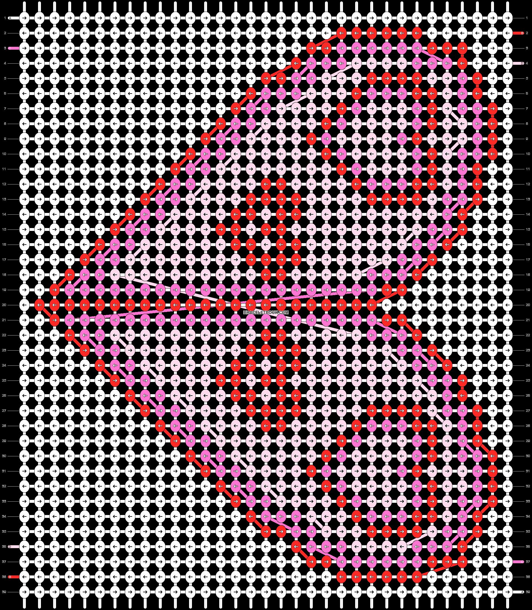 Alpha pattern #18597 pattern