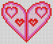 Alpha Friendship Bracelet Pattern #18597