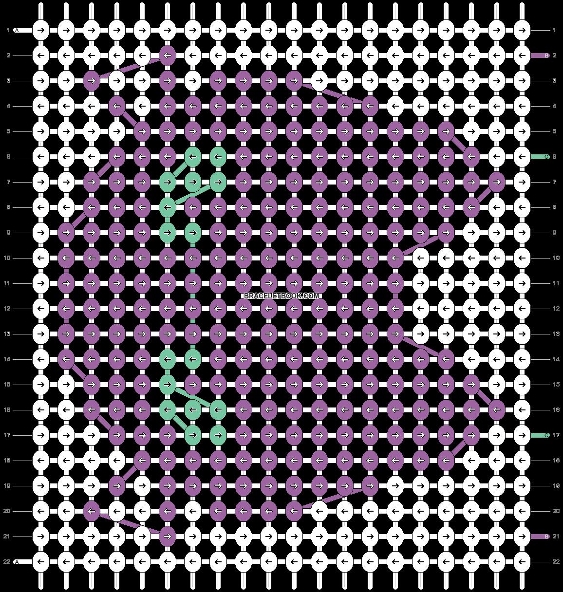 Alpha pattern #18598 pattern