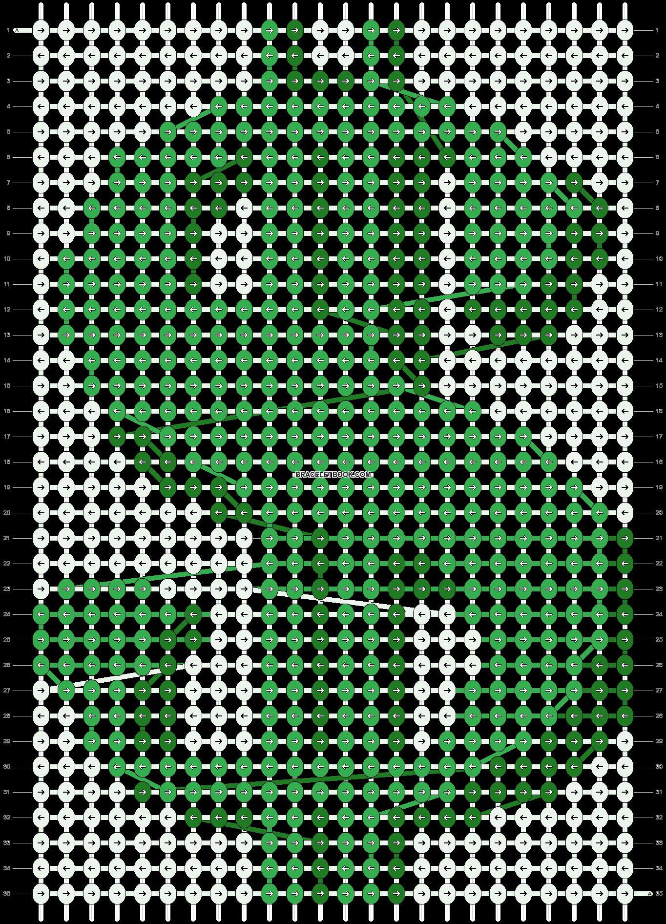 Alpha pattern #18601 pattern