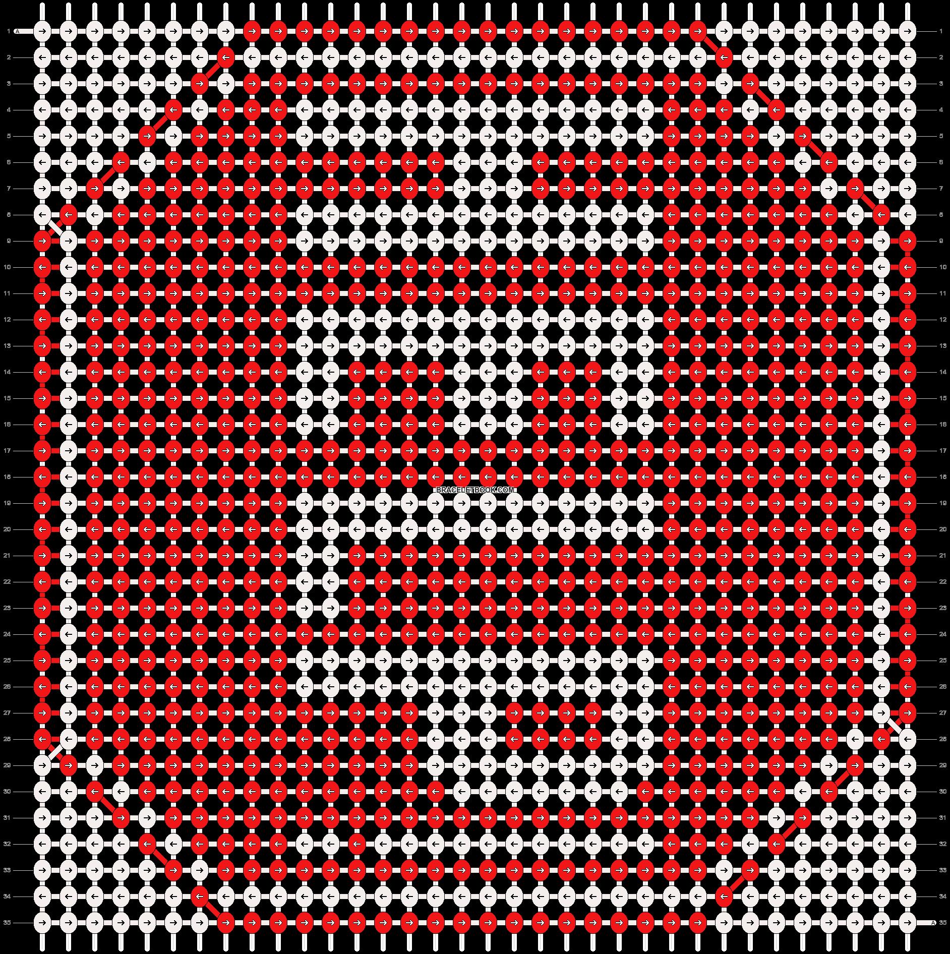 Alpha pattern #18602 pattern