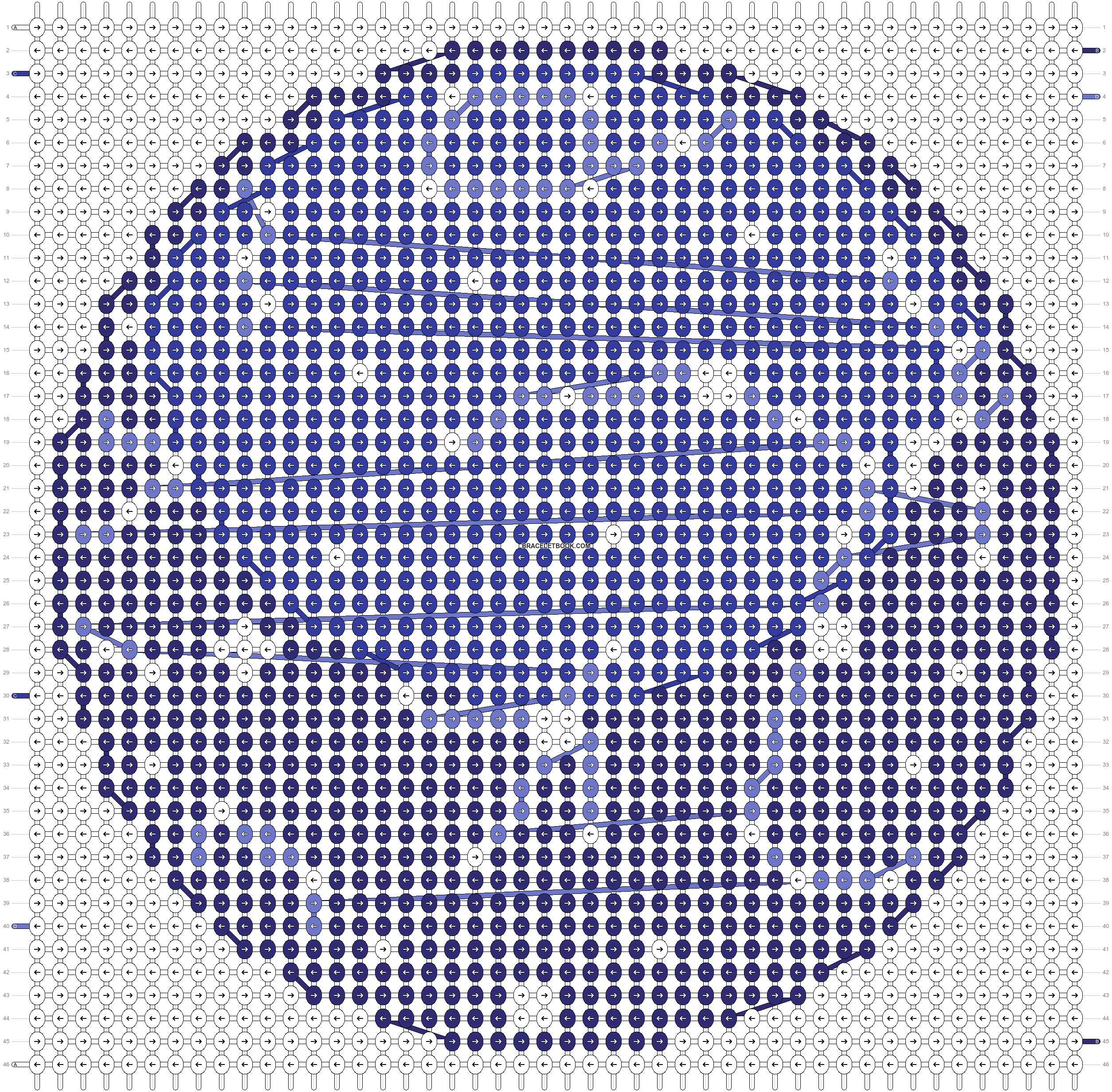 Alpha pattern #18609 pattern