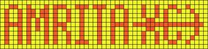 Alpha pattern #18610