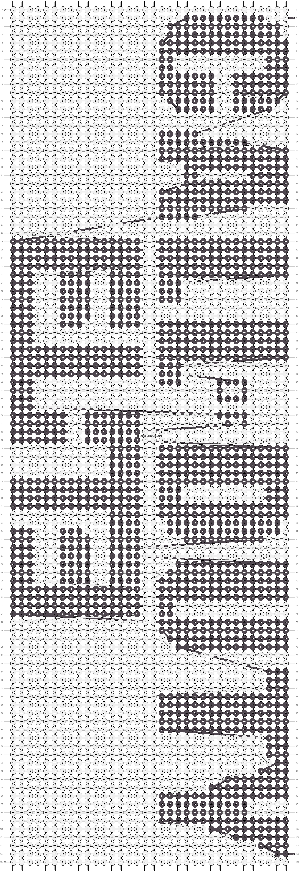 Alpha pattern #18613 pattern