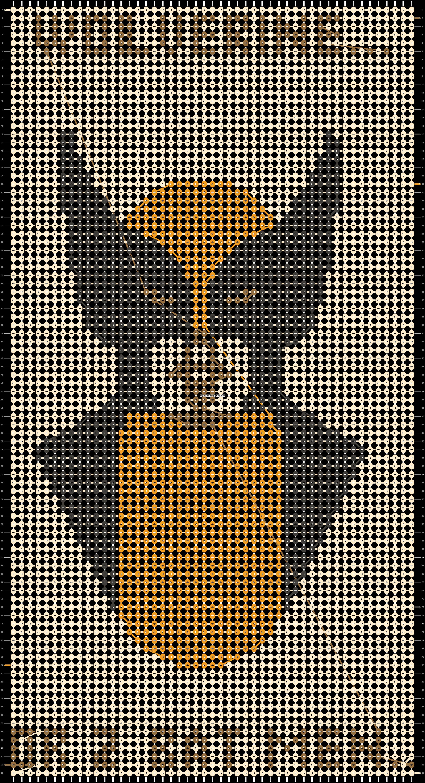 Alpha pattern #18615 pattern