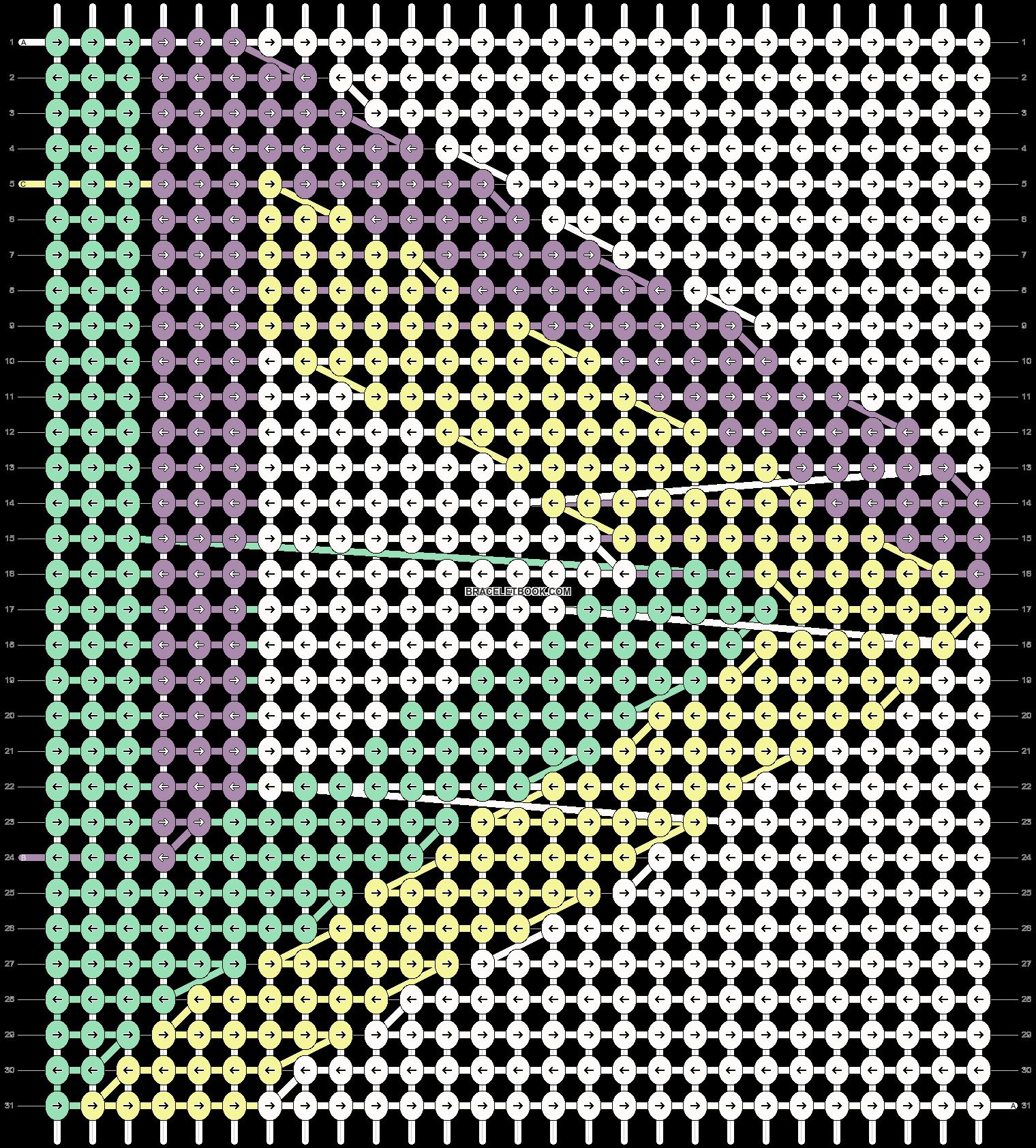 Alpha pattern #18616 pattern