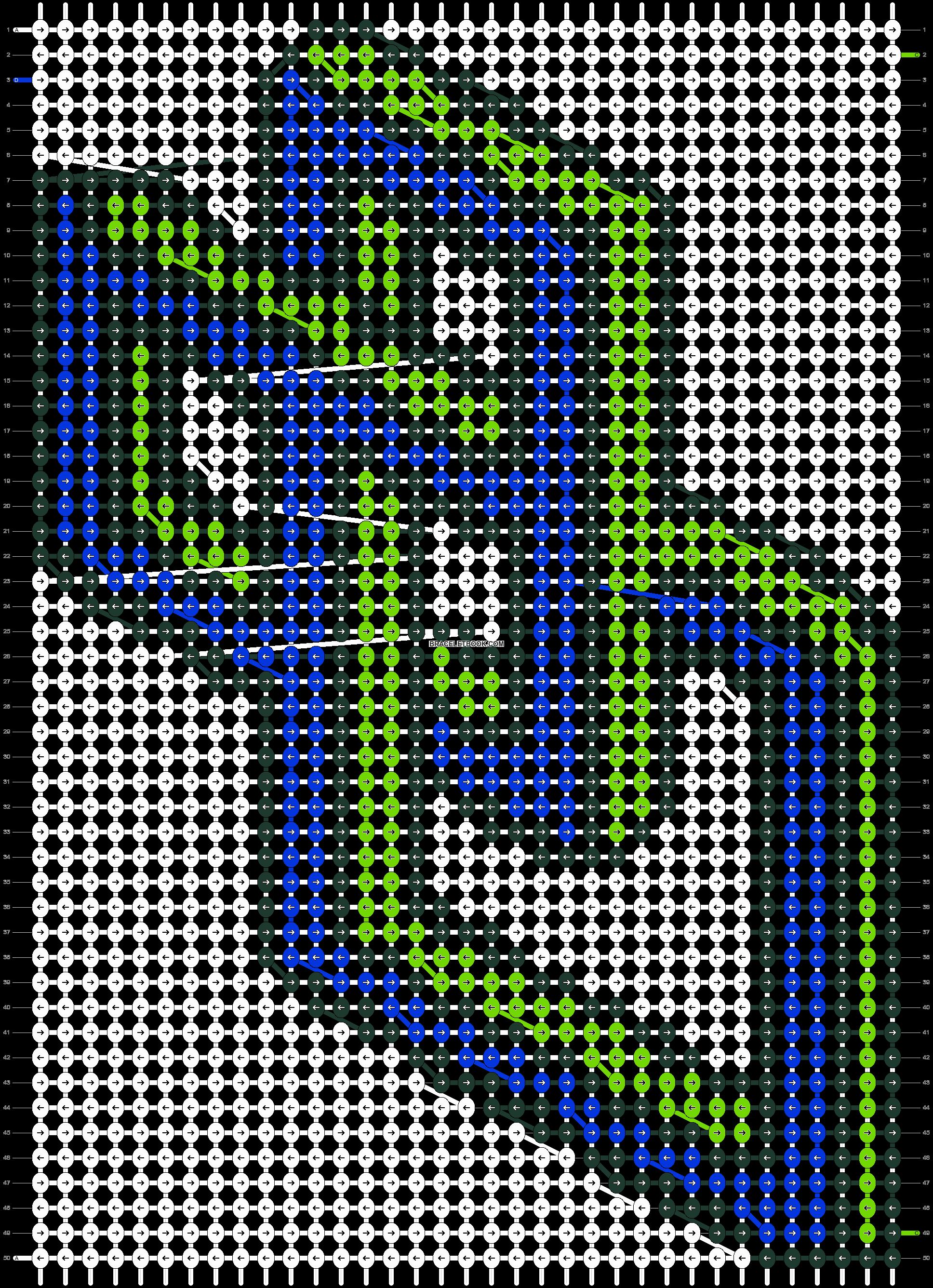 Alpha pattern #18617 pattern