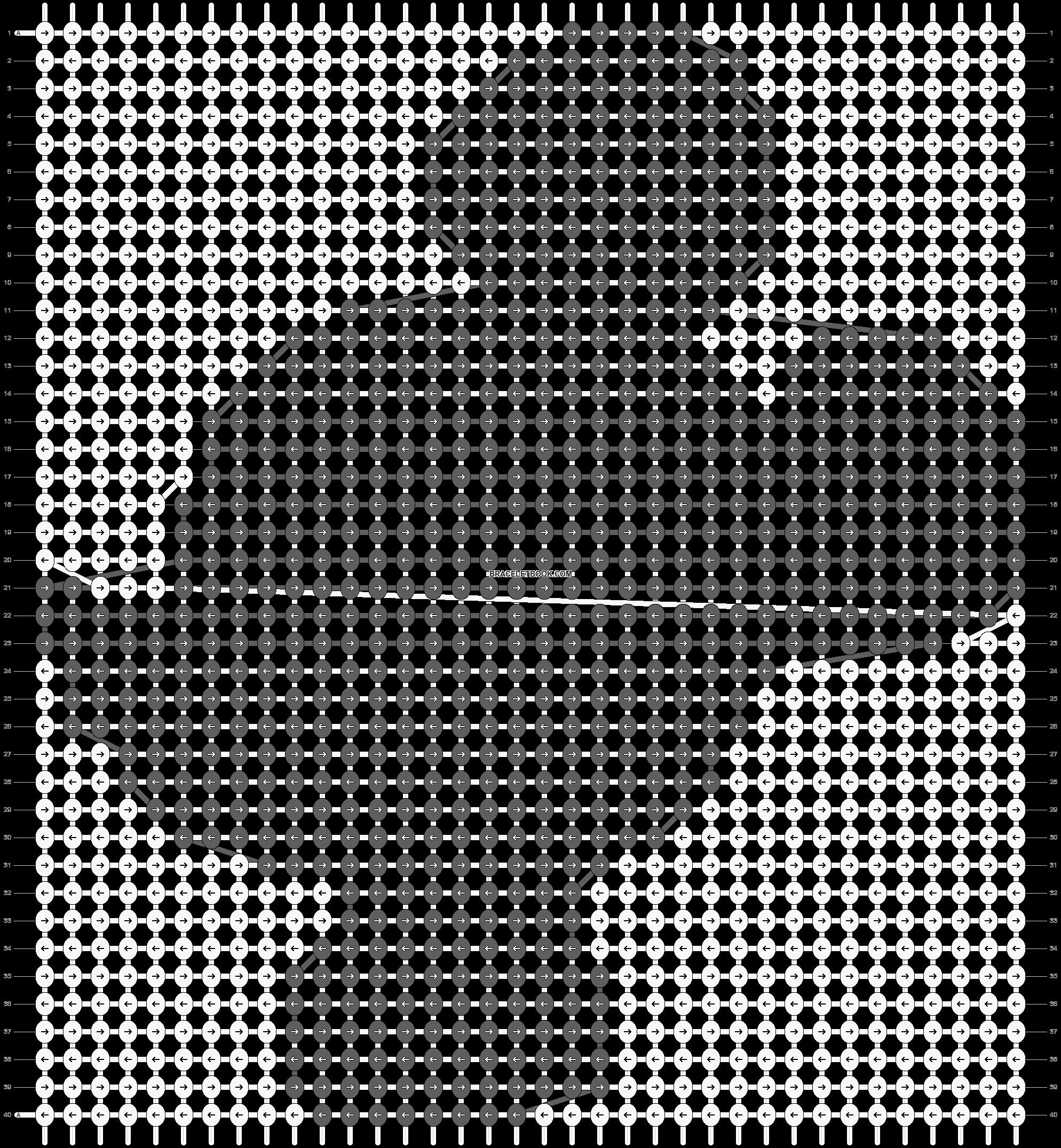 Alpha pattern #18621 pattern