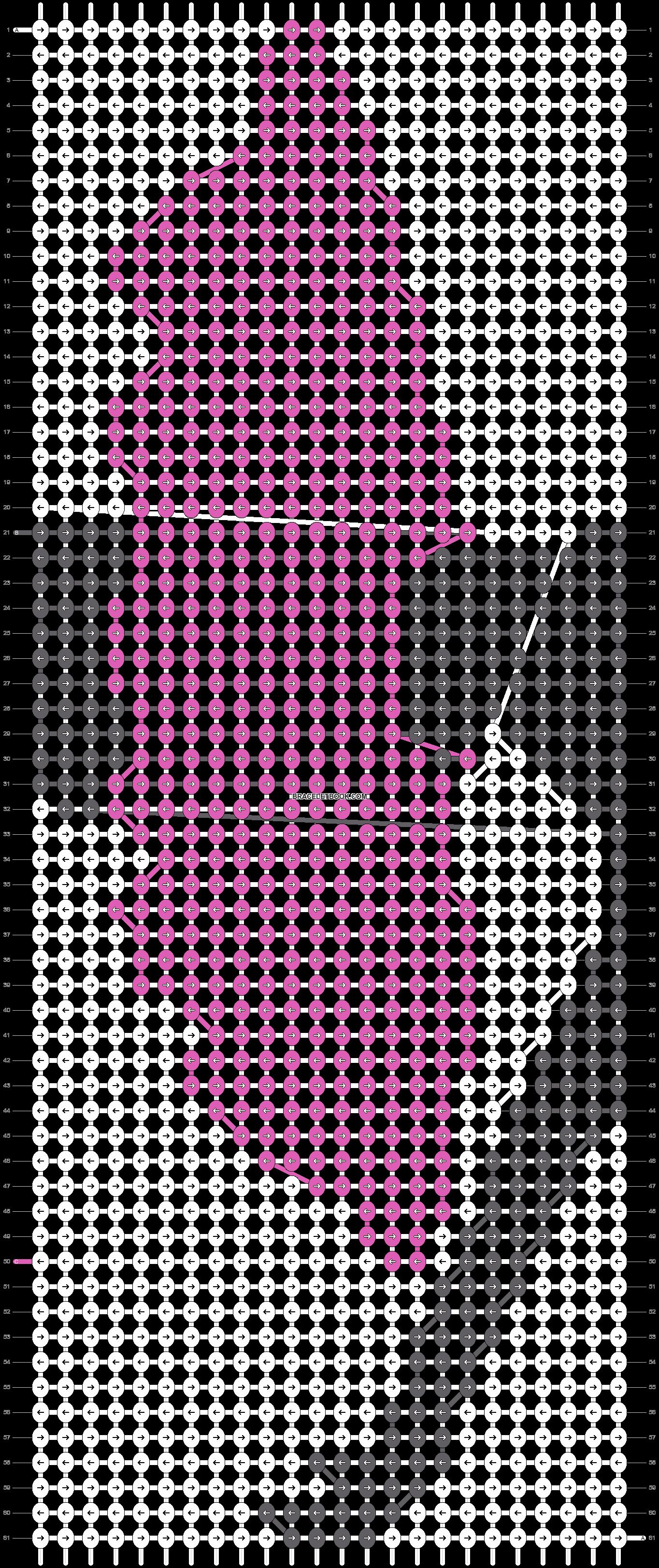 Alpha pattern #18631 pattern