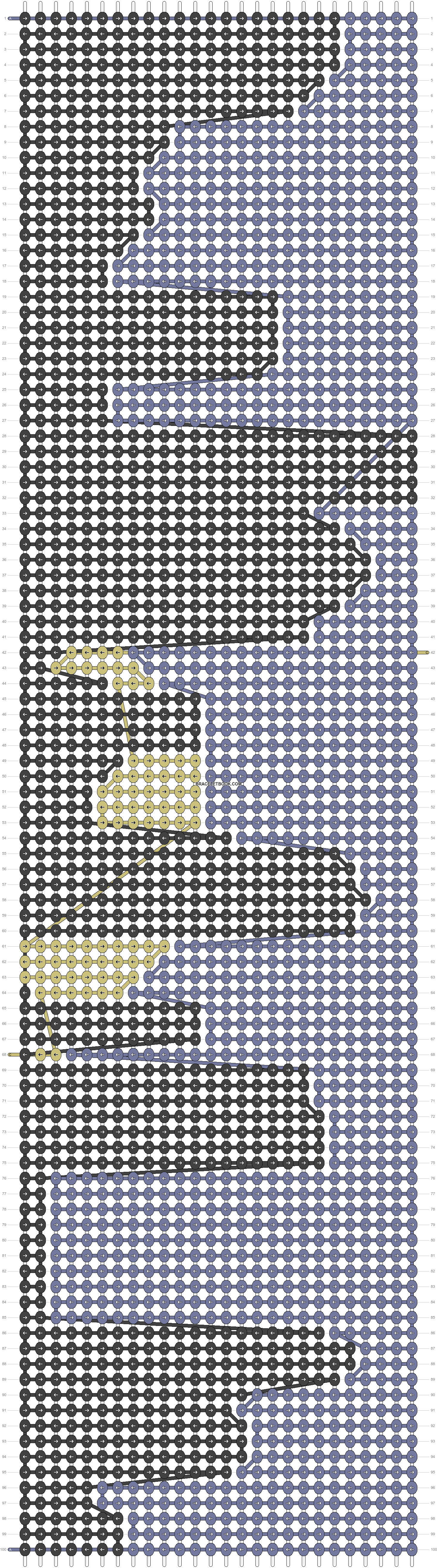 Alpha pattern #18632 pattern