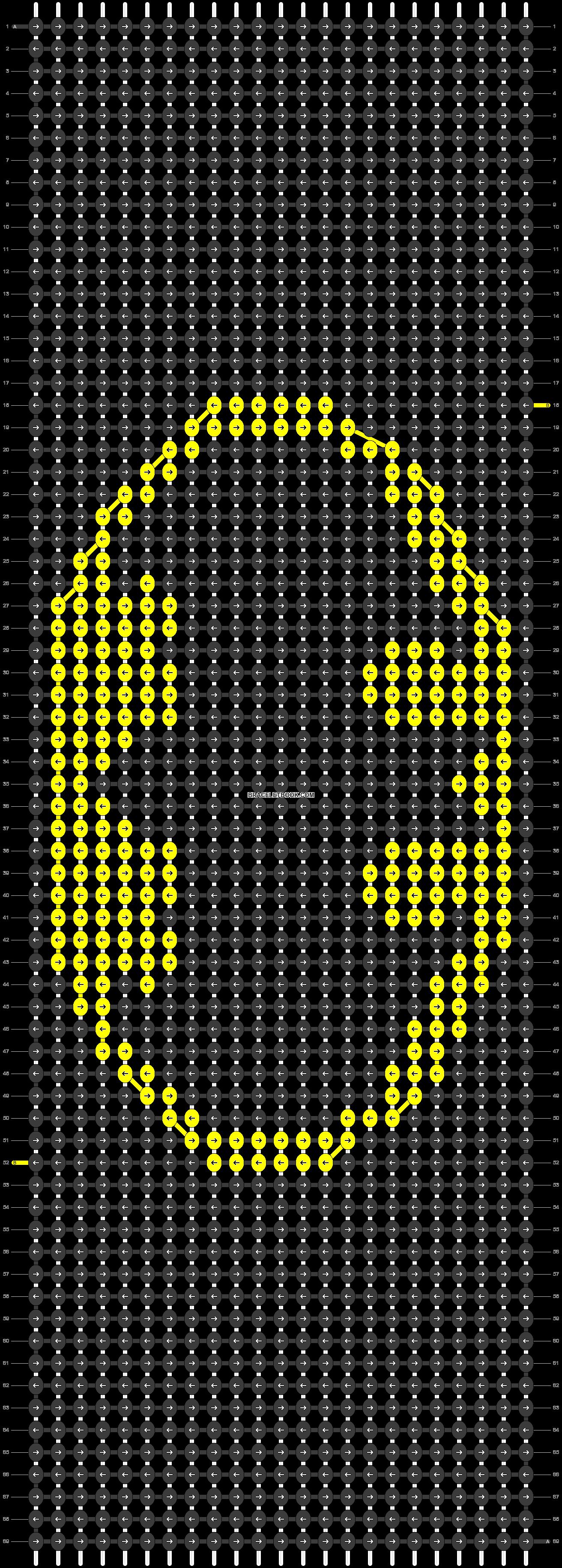 Alpha pattern #18635 pattern
