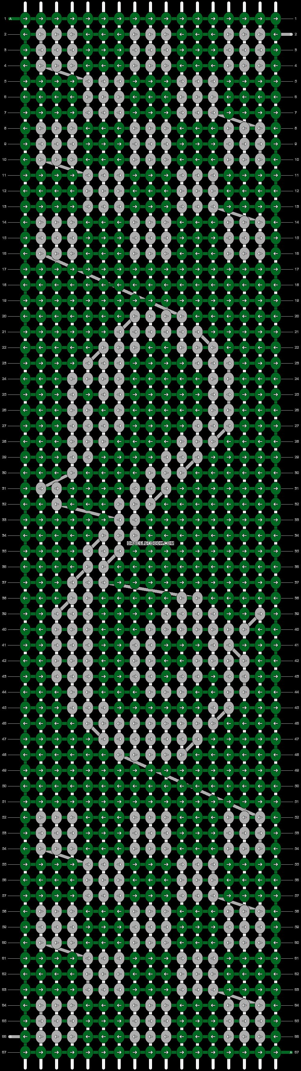 Alpha pattern #18636 pattern