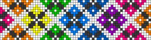 Alpha Friendship Bracelet Pattern #18638