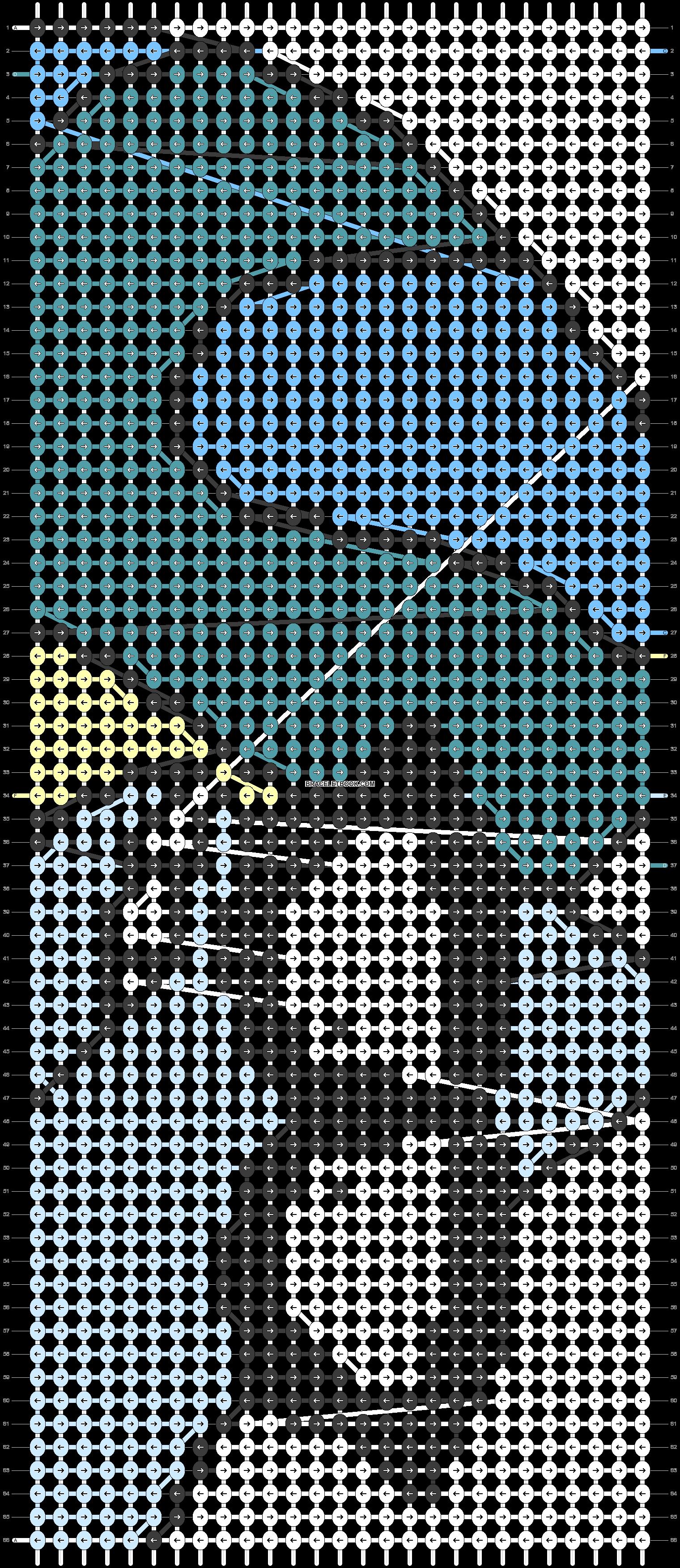 Alpha pattern #18640 pattern