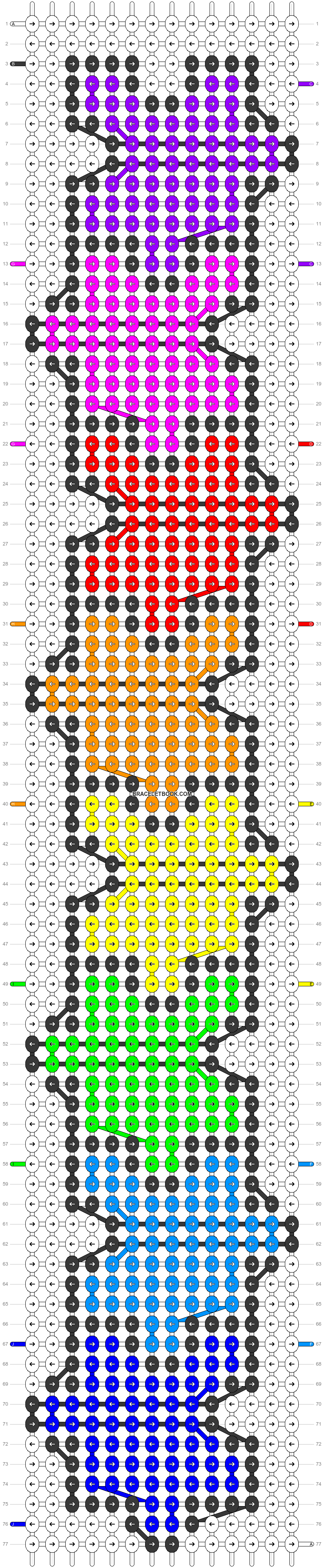 Alpha pattern #18647 pattern