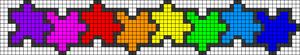 Alpha Friendship Bracelet Pattern #18647