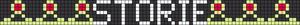 Alpha Friendship Bracelet Pattern #18661